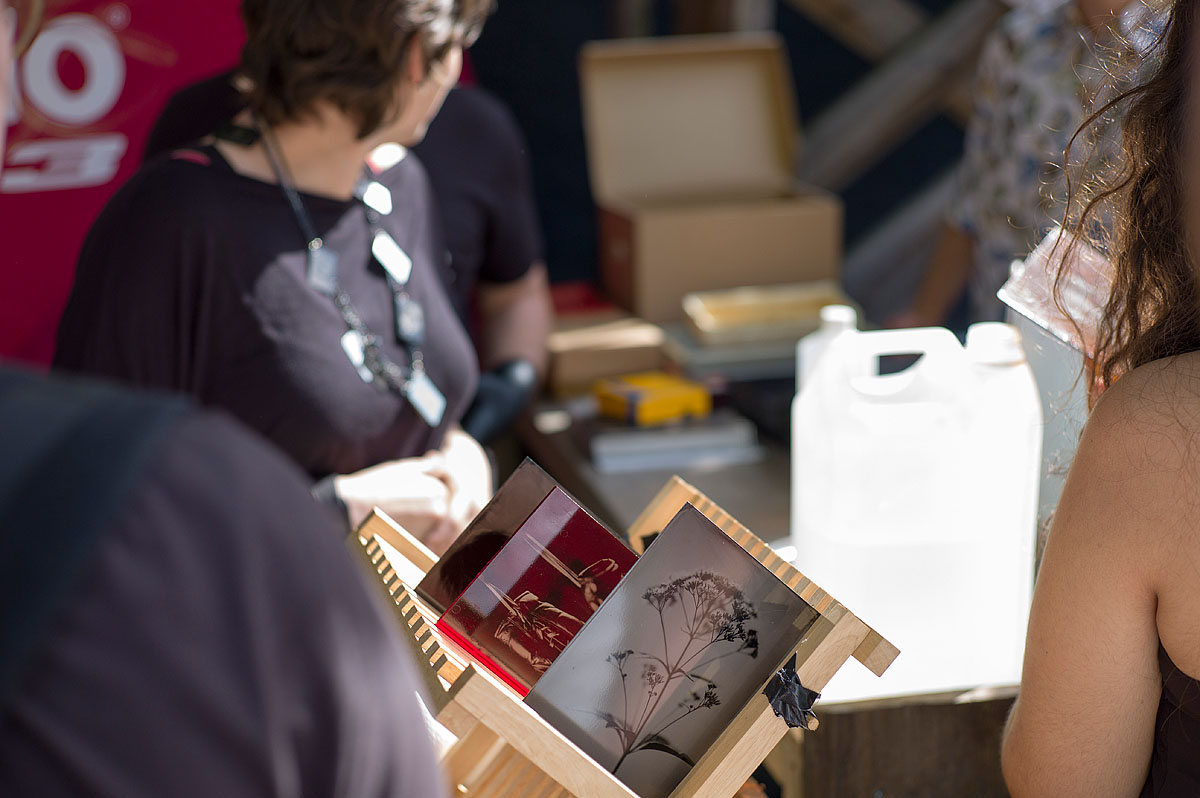 wet plate collodion workshop op KABK door Went&Navarro